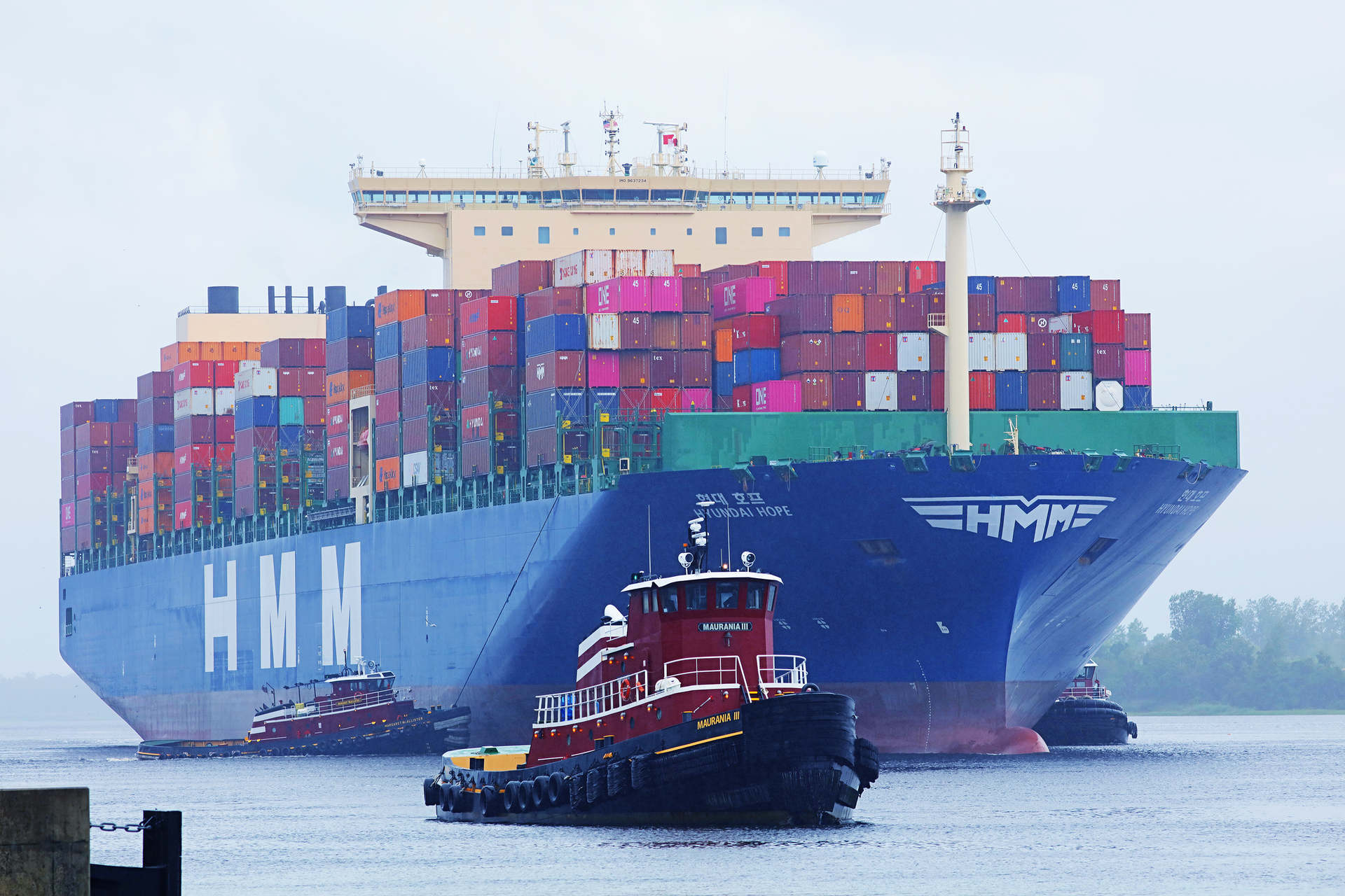 North Carolina Ports Makes History, Welcomes Largest Container Ship to the Port of Wilmington