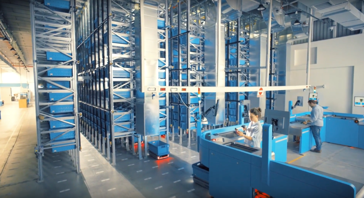 The single biggest technological innovation to happen to grocery is the automated fulfillment of online orders.